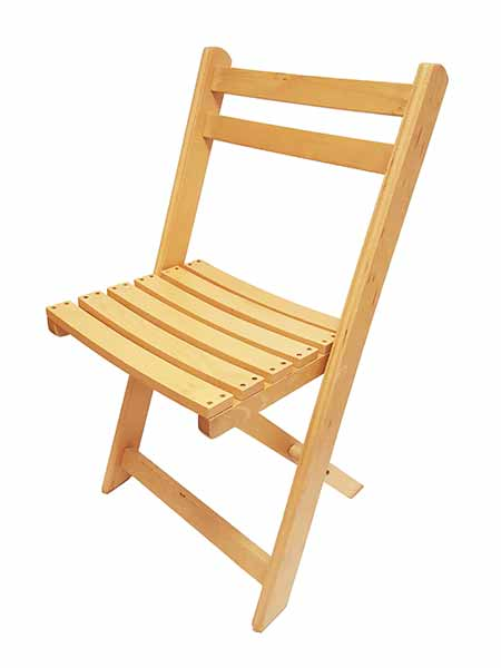 wooden folding chairs for our marquees