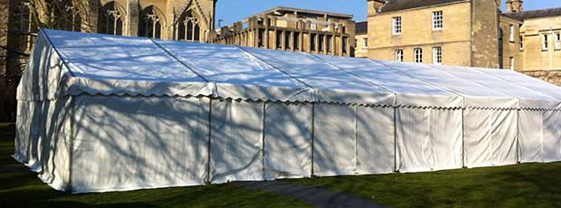 Our range of Clear Span marquees for weddings, parties and functions
