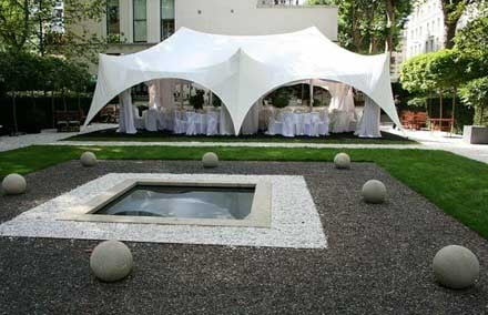 Marquee for corporate event in London