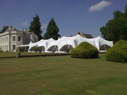 Large Marquee wedding Oxfordshire