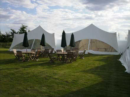 Beautiful marquee wedding in Bedfordshire