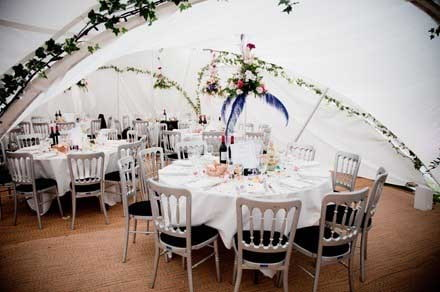 Marquee wedding in Coventry West Midlands
