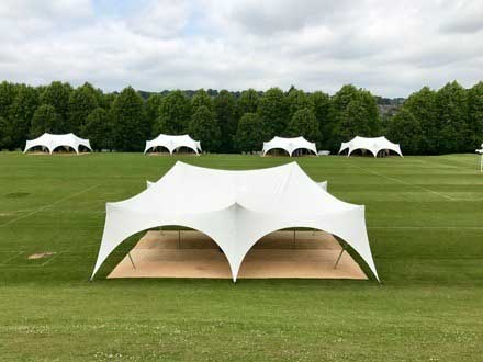 Marquees for end of school year event in High Wycombe, Buckinghamshire